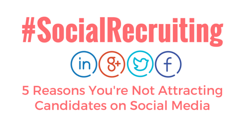 Attracting Candidates on Social Media