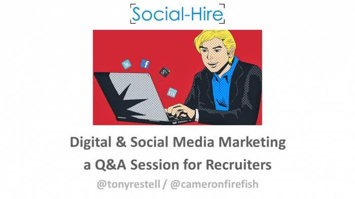 Social Media Agency and Recruitment Marketing expert share tips