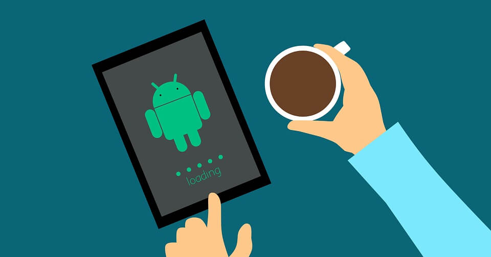 Coffee, Design, Android, Hand, Tablet, Business