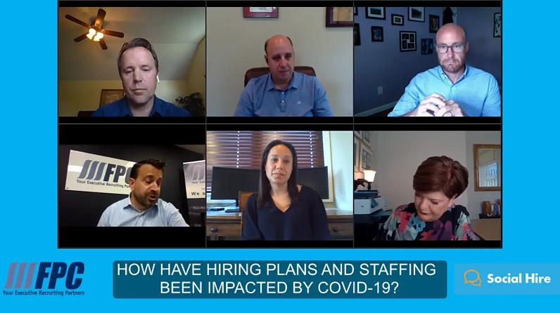 How Have Hiring Plans and Staffing Been Impacted By Covid-19
