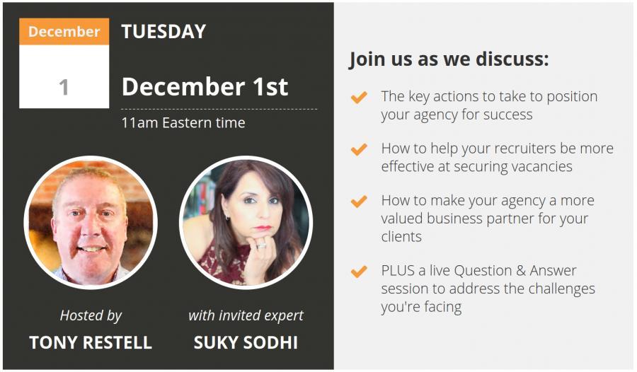 Recruitment Agency Success Tips Webinar