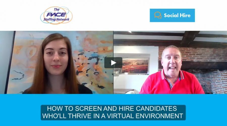 Sara Bennett Pace Staffing Interview