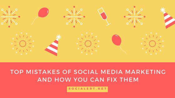 Top Social Media Mistakes